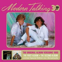 Modern Talking - The First & Second Album [30th Anniversary Edition 3CD] (2015) MP3