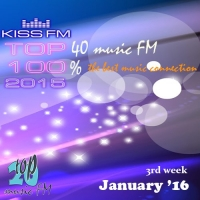 Сборник - Kiss FM Top 40 January (3rd week) (2016) MP3