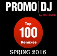 VA - Promo DJ TOP 100 Remixes Spring 2016 [09.05] (2016) MP3