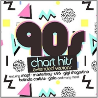 VA - 90s Chart Hits - Extended Versions (2016) MP3