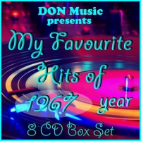 VA - My Favourite Hits of 1967 [8CD] (2016) MP3 от DON Music