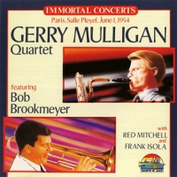 Gerry Mulligan Quartet - Paris, Salle Pleyel, June 1, 1954 (1996) MP3