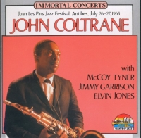John Coltrane - Love Supreme. Immortal Conserts. Juan Les Pins Festival, Antibes, July 26-27,1965 (1992) MP3