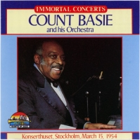 Count Basie and His Orchestra - Immortal Concerts. Konserthuset, Stockholm, March 15, 1954 (1996) MP3