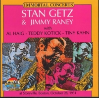 Stan Getz & Jimmy Raney - Immortal Concerts. Live at Storyville, Boston 28 October 1951 (2000) MP3
