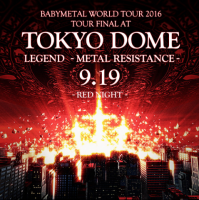 Babymetal - Live at Tokyo Dome: Red & Black Night [Deluxe Edition] (2017) MP3