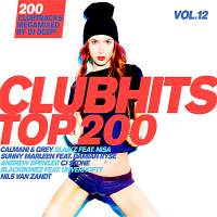 VA - Clubhits Top 200 Vol.12: Megamix DJ Deep [3CD] (2018) MP3