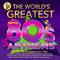 VA - The World's Greatest 80s Anthems [2CD] (2018) MP3