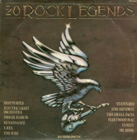 VA - 20 Rock Legends (1979) MP3
