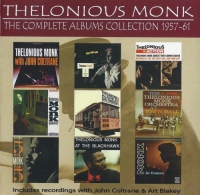Thelonious Monk - The Complete Albums Collection 1957-61 [5CD] (2015) MP3