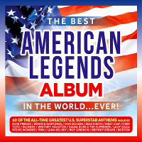 VA - The Best American Legends Album In The World... Ever! [3CD] (2020) MP3